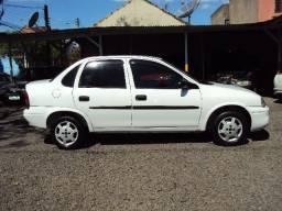 Corsa Sedan 1.0 8v** Direção Hid. 12x cartão, Ótimo! - 2000