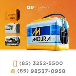 Bateria 90Ah Moura para carros nacionais e importados