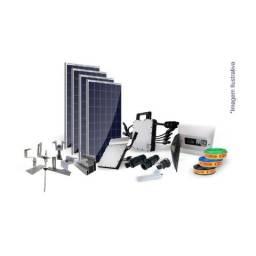 Kit Completo de Usina Solar Hoymiles(Homologação gratis)