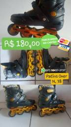 Patins Oxer Freestyle - In Line - Freestyle, Usado. Nº38
