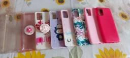 Cases A71 e IPhone 7 Plus femininas