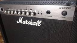 Amplificador Marshall MG30CFX 220V Americano na Caixa comprar usado  São Joaquim de Bicas