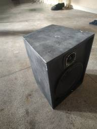2 caixas passivas com alto falante de 12