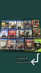 Jogos de ps4, Xbox one e 360