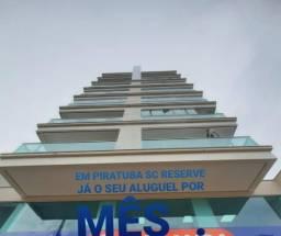 Apartamento novo para locação mensal/ Piratuba