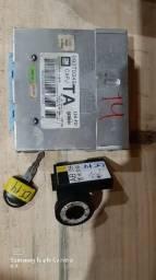 Conjunto módulo de injeção corsa 1.0 gasolina