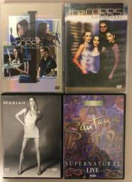 DVDs Originais - Rock - Pop - Lote