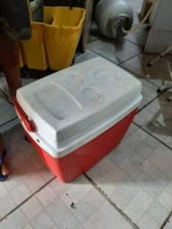 Caixa térmica usada 46litros
