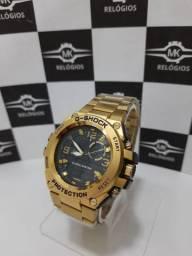Relógio masculino g-shock aço