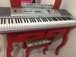 Piano Teclado Gran Piano 76 Teclas Yamaha Dgx 230
