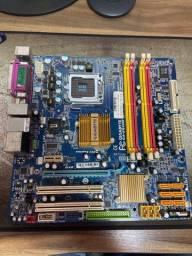 Placa Mãe LGA 775 Gigabyte GA-EQ45M-S2
