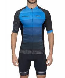 Camiseta Ciclismo Supreme California Azul Woom