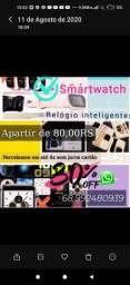 Smartwatch relógios inteligentes