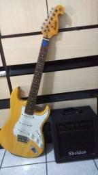 Guitarra Memphis + Caixa Amplificadora Sheldon gt150