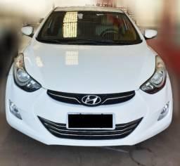 Hyundai Elantra 1.8 GLS, Branco 2012