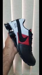 Tenis Nike Shox Preto, Vermelho e Branco N*38,39,40,41