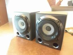 Par de Caixas traseiras Sony Muteki SS-SRP5000