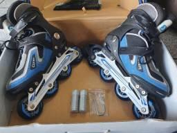 Roller abec 7 com kit proteção.