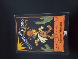 Livro Estrepolias de Pedro Malazarte
