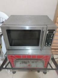 Forno microondas mabe c/ grill