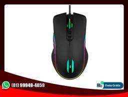 Mouse Gamer Backlit RGB 3200Dpi - Lehmox