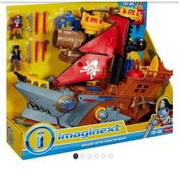 Imaginext navio tubarão