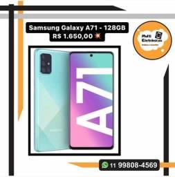 Samsung Galaxy A71 - 128GB Produto Novo Lacrado Na Caixa - Com Garantia e Nota Fiscal