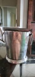 Conjunto dr pegador de gelo em prata
