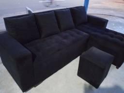 Título do anúncio: Sofa com cheyse novo fabricado