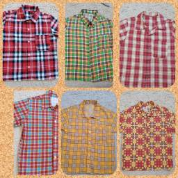 Camisas Juninas para criança Novas