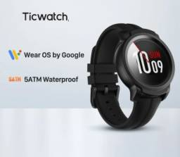 Ticwatch E2 Wear OS ,google smartwatch gps ios android 5 atm impermeável