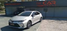 Título do anúncio: Toyota Corolla 2021 Altis Hibrido Premium Só 2.400 Km Rodados {Igual a Zero}Teto Solar