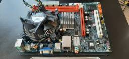 Placa mãe DDR3 + Processador Dual Core 2.70 + Cooler e Espelho - Leia o Anuncio !!