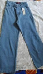 Título do anúncio: Calça jeans feminina pantalona flare
