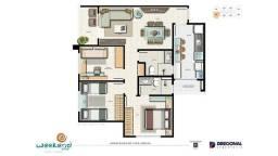 Vendo Urgente!  Apartamento Weekend Club Ponta Negra, 3 quartos (1suíte), com tudo dentro!