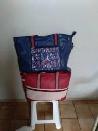 2 bolsas térmicas grandes R$60,00