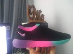 Tênis Nike Meia Frete Grátis Barato  Academia Dia Dia Casual Caminhada