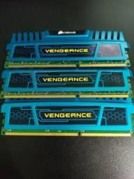Memórias Corsair Vengeance 4GB 1600Mhz DDR3