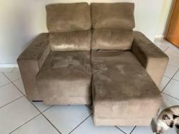 sofá 2 lugares cama PRA VENDER LOGO