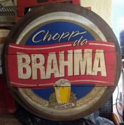 Título do anúncio: Placa Publicitária da Brahma Chopp