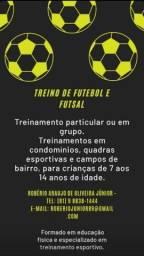 Treinamento particular de futebol