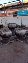 10 exaustor para estrutura metálica 150.00 cada