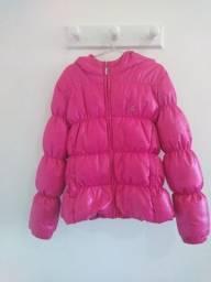 Jaqueta infantil pena de ganso