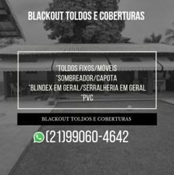 BLACKOUT TOLDOS E COBERTURAS