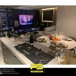 Título do anúncio: ** PROJETADOS ** Apartamento à venda, 70 m² por R$ 650.000 - Altiplano - João Pessoa/PB