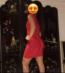 Vestido de Bandagem Vermelho