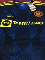 Título do anúncio: Camisa Manchester United azul 21/22