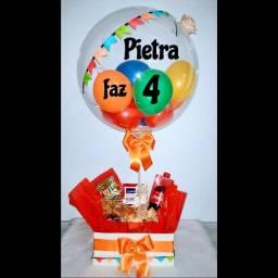 Box de Luxo / cestas / balões / centro de mesa