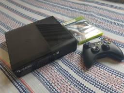 Xbox 360 bloqueado, divido no cartão