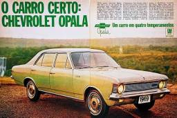 Chevrolet Opala 1969 - Propaganda Antiga, Publicidade